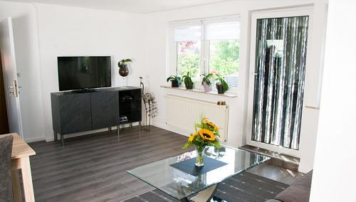 Wohnzimmer Hus Tanja Krautsand