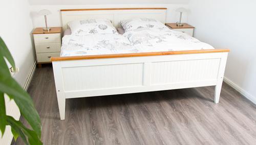 Schlafzimmer Hus Tanja Krautsand