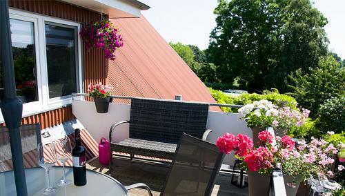 Balkon Hus Tanja Krautsand