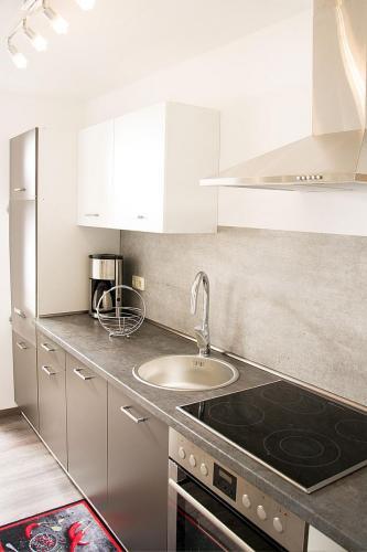 neue Küchenzeile Hus Mia Krautsand